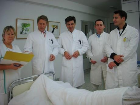 Untersuchung: Pankreasdrüse